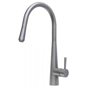 ISABELLA Deluxe Gooseneck Pull-out Kitchen Mixer 213116BN