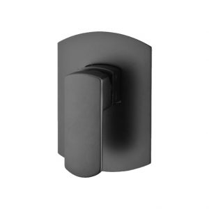 KOKO Matte Black Wall Mixer 218101B