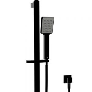 KOKO Matte Black Rail Shower 444107B